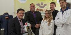 La jeune startup drômoise a mis au point un panneau photovoltaïque de troisième génération.