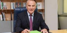 Jack Bouin est le directeur général du Crédit Agricole d'Aquitaine.