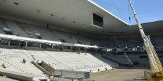 Le Nouveau Stade de Bordeaux est composé à 85 % d'acier, ce qui en fait un stade unique en France.