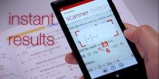 En un scan, Photomath peut afficher la solution d'équations linéaires simples.