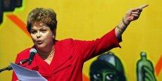 Lors de son monologue, elle a également salué son mentor politique, l'ancien président Luiz Inacio Lula da Silva.