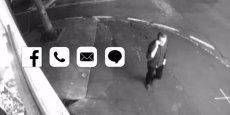 """Tout en saluant les révélations d'Edward Snowden sur la NSA, la jeune marque londonienne The Affair répond à la curiosité des antennes Wi-Fi, RFid bluetooth etc par un dispositif """"anti-big brother"""" qui repousse les (mauvaises ?) ondes. (image tirée de la vidéo de présentation de la marque The Affair)"""