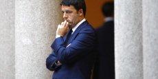 Matteo Renzi s'est fait plus discret en fin de présidence...
