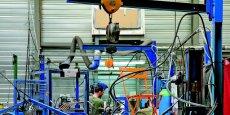 L'usine Fermob à Toissey dans l'Ain