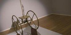 La sculpture de Giacometti, baptisée Chariot, était la vedette des ventes d'art moderne. Elle était détenue par un particulier depuis 40 ans.