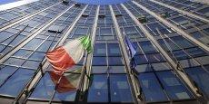 Le siège de Finmeccanica, second groupe industriel italien spécialisé dans l'aéronautique et l'industrie spatiale.