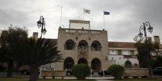 Le palais présidentiel à Nicosie.