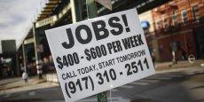 Le taux de chômage américain s'élève à 5,8%, un plus bas de six ans.