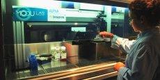 Poietis possède la licence exclusive d'une technologie fruit de 10 ans de recherche à l'Inserm et à l'université de Bordeaux.