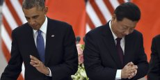 Barack Obama et le président chinois Xi Jinping
