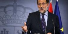 Le président du gouvernement espagnol, Mariano Rajoy, veut faire céder la majorité indépendantiste catalane.