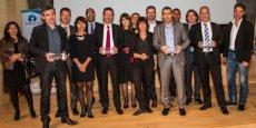 Les partenaires et lauréats des Trophées 2014 de Créalia