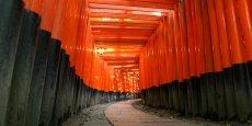 Le sanctuaire Fushimi Inari taisha est un des lieux les plus visités de Kyoto. Il apparaît notamment dans le film Mémoires d'une Geisha.