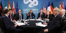 Autre engagement annoncé dimanche par le communiqué final du G20: celui d'une coopération renforcée dans le secteur de l'énergie, dont les modalités seront définies en 2015, pour garantir des marchés énergétiques plus stables.