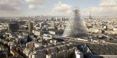 La tour Triangle sera installée au parc des expositions de la porte de Versailles.