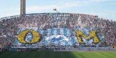 Le stade Vélodrome à Marseille accueille l'Olympique de Marseille.
