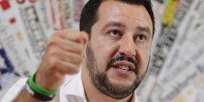 Matteo Salvini (41 ans) est depuis 2013 le leader de la Ligue du Nord.