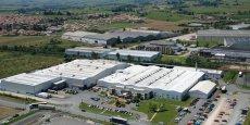 Le siège de Saint Jean Industrie dans le Rhône.