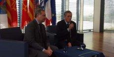 Jean-Luc Moudenc et Philippe Saurel