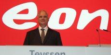 Johannes Teyssen, patron du groupe de l'énergie allemand, veut tirer parti des opportunités de croissance qui naissent de la recomposition du secteur énergétique.