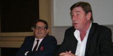 Marcel Affergan et William Livingston, les dirigeants d'Orion Santé