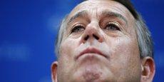 John Boehner, président républicain de la Chambre des représentants américaine