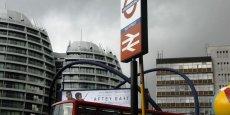 Le quartier émergent du Silicon Roundabout, le rond-point d'Old Street, dans l'Est de Londres où est installé Tech City UK.