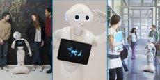 Pepper, petit frère de Nao et premier robot personnel capable de lire les émotions a été révélé au grand public en juin 2014.