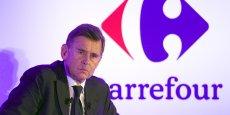 Georges Plassat, Pdg de Carrefour, premier de la liste