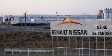 L'usine Renault de Tanger, au Maroc, a ouvert ses portes en février 2012