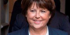 Martine Aubry, la maire de Lille, a présenté au Parlement du PS ses idées pour infléchir la politique du gouvernement