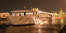 Le MS Loire Princesse naviguera entre Nantes, Saint-Nazaire et Angers.