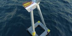 Le projet EolMed, situé au large de Gruissan, à proximité de Port-la-Nouvelle, est porté par la société montpelliéraine Qair.