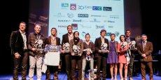 L'ensembles des Trophées 2014 des rugby(wo)men entrepreneurs mis en avant par Rugby club Aquitaine entreprises