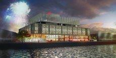 Le futur Radisson Blu, imaginé par l'agence d'architectes King Kong pour la société immobilière Redman, prendra place aux Bassins à flot à Bordeaux