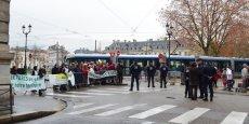 Opposants et partisants du projet de Center Parcs s'étaient rassemblés le 18 décembre dernier à Grenoble
