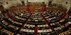 La Vouli, le parlement hellénique.