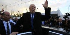 Béji Caïd Essebsi a indiqué dès 18 heures dimanche qu'il dédiait sa victoire aux martyrs de la Tunisie.