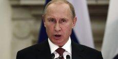 Vladimir Poutine estime que les Américains ont profité des sanctions contre la Russie, au détriment des Européens.