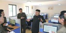 Très peu de citoyens nord-coréens, sur les 24 millions qui peuplent la partie septentrionale de la péninsule, ont accès à Internet.