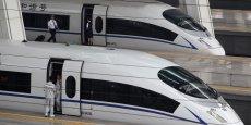 CNR Corp fabrique notamment le train à haute vitesse de Pékin.