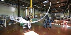 La société lotoise va produire pour l'avionneur brésilien Embraer des pièces de grande taille pour la famille des E-Jets E2