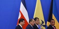 De nombreux États de la région conservent des relations diplomatiques avec la République de Chine (Taiwan).