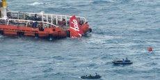 L'Airbus A320-216 s'est abîmé le 28 décembre 2014 en mer de Java, tuant les 162 personnes à bord.
