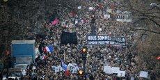 Le rassemblement contre le terrorisme après l'attentat qui a fait 12 morts chez Charlie Hebdo pourrait être le plus gros rassemblement de foule à Paris depuis la libération.