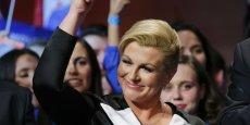 Je vous promets que la Croatie sera un pays prospère et riche, un des pays les plus développés de l'Union européenne et du monde, a promis dimanche Kolinda Grabar Kitarovic.
