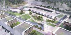 Le futur campus de Thales à Mérignac