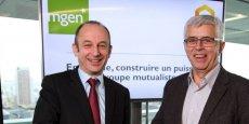 Thierry Beaudet, président de la MGEN,  et Joseph Deniaud