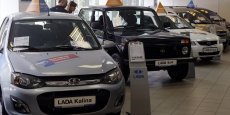 L'alliance Renautl-Nissan qui détient 35% du marché automobile russe a annoncé de nouvelles hausses deprix. Les Lada représentent les deux tiers de ses ventes.