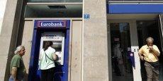 Eurobank, une banque grecque, veut pouvoir puiser dans le fonds d'urgence.